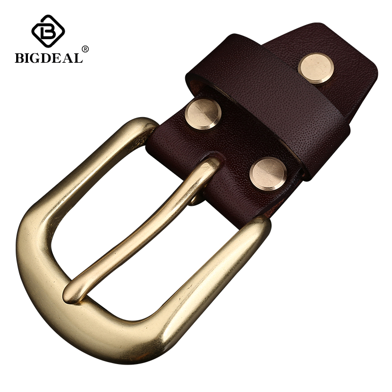 Men Belt Buckle 35mm Metal Pin Buckle Fashion Jeans Waistband Buckles For 3.3-3.4cm Belt DIY Leather Craft Accessories