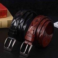 New Men S Belts Luxury Designer High Quality Genuine Leather Man Belt Pure Cowhide Diamond Skin