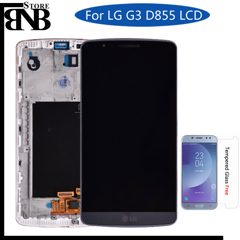 Original For LG G3 LCD D850 D851 D855 LCD Display With Touch Screen Digitizer Assembly With Frame free shippingOriginal For LG G3 LCD D850 D851 D855 LCD Display With Touch Screen Digitizer Assembly With Frame free shipping