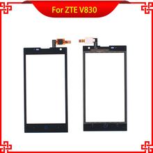 Touch Screen Digitizer Panel 4.5 Inch For ZTE V830 830 100% Original Free Shipping стоимость