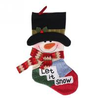 Fashion Cute Snowman Style Christmas Tree Decor Xmas Stocking Ornament New