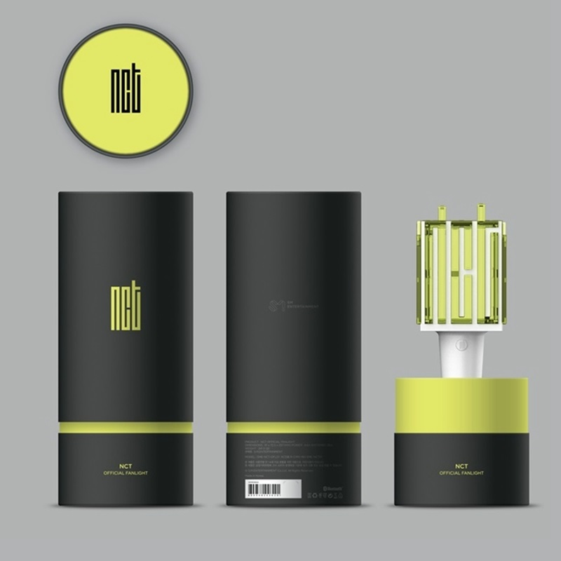 Eycocci LED NCT Kpop bâton lampe Hiphop Lightstick musique Concert lampe Fan-made nouvelle tige d'aide bâton Fluorescent