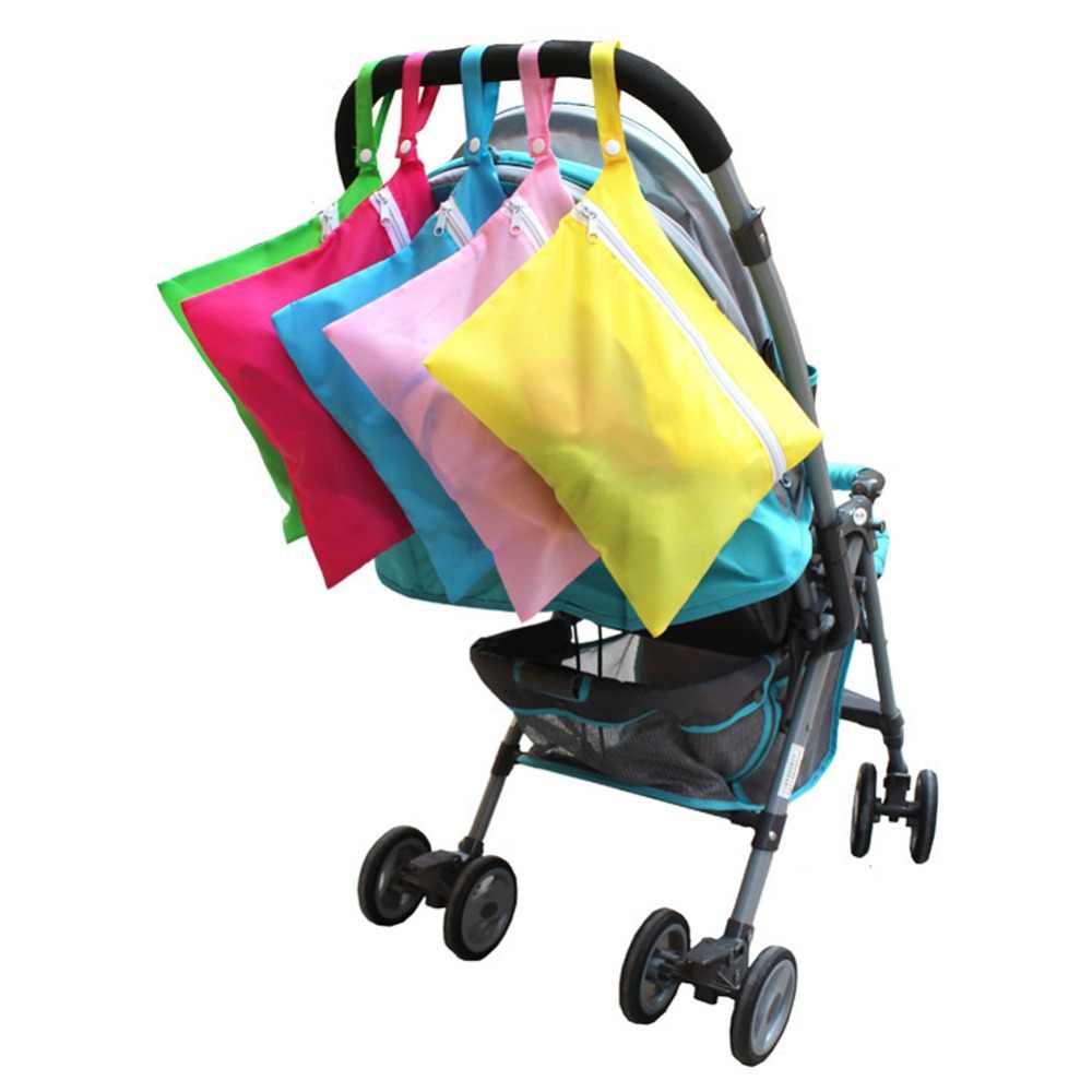 กระเป๋ารถเข็นเด็กทารกน่ารักรถเข็นเด็กแขวนตะกร้าทารกจัดเก็บผ้าอ้อมผ้าอ้อมเด็ก Travel ขวดนมกระเป๋า
