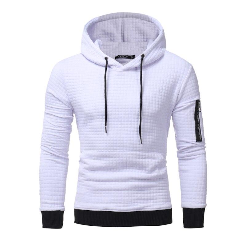 2018 New High-End Casual Hoodie Men'S Fashion Unique Korean Style Long-Sleeved Sweatshirt
