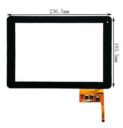New touch screen panel Tablet Yarvik TAB466 9.7 Tablet Digitizer Glass Sensor replacement Free Shipping original new 10 1 inch touch panel for acer iconia tab a200 tablet pc touch screen digitizer glass panel free shipping