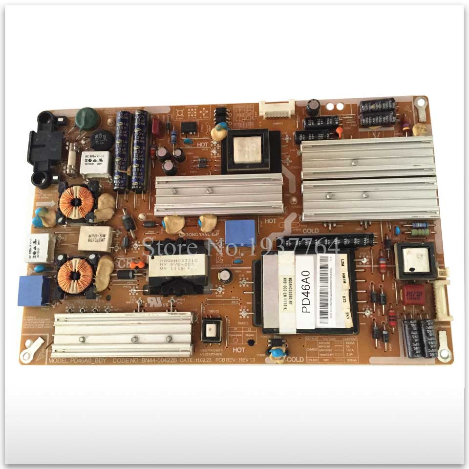 95% new good working used power supply board BN44-00422B = BN44-00473B pd46c2 bsm bn44 00430a power supply tv parts is used