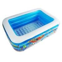 Di Alta Qualità 150X110X48 Centimetri di Grandi Dimensioni di Plastica Gonfiabile Quadrato Blu Underwater World Modello Piscina di Palline Piscina Oceano piscina di Palline