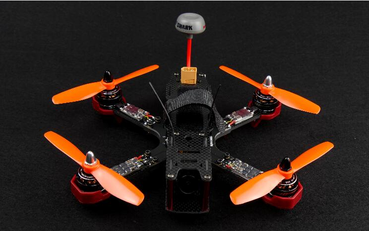 DALRC XR215 Carbon Fiber FPV Racing Quad Frame Kit for FPV Quad Race 215mm Drone xr