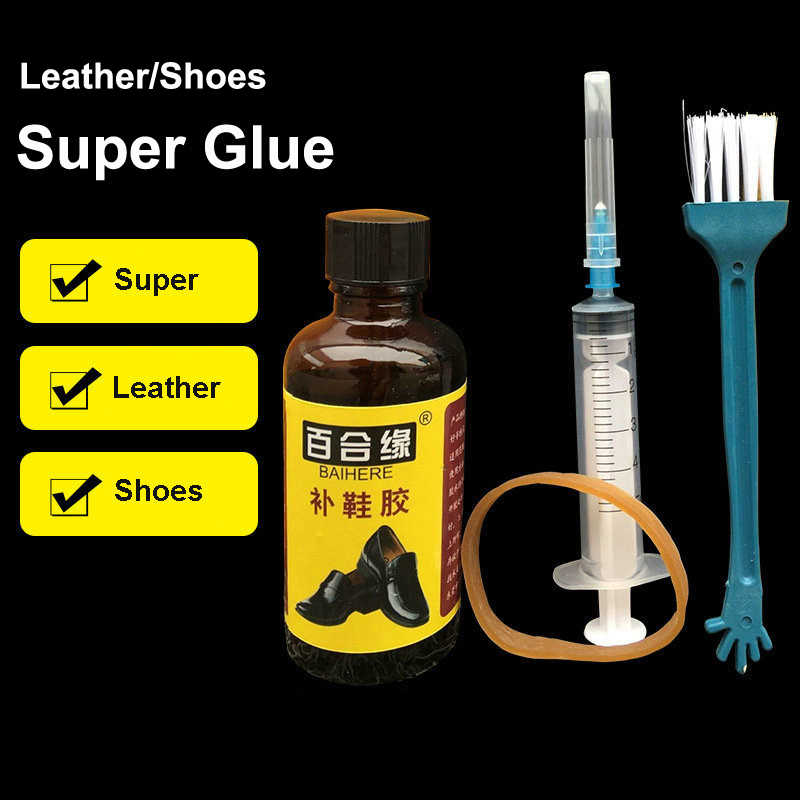 50ML Waterproof Strong Super Glue Liquid Rubber Leather Rubber Fabric Tool Epoxy Resin Adhesive Stationery Store Kit DIY Craft