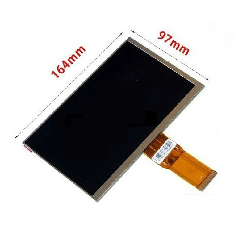 New LCD Display Matrix 7 teXet TM-7058 X-pad STYLE 7.1 3G TABLET 1024*600 LCD Display Screen Panel Viewing Frame Free Shipping new lcd display 7 for texet tm 7058 x pad style 7 1 3g tablet ips inner lcd screen matrix panel glass replacement free shipping