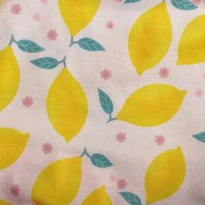Image 5 - Son Tarzı Bebek Kız giyim setleri Limon Kolsuz Elbise Fırfır şort Butik Çocuk Yaz Setleri 2GK904 1200 HY