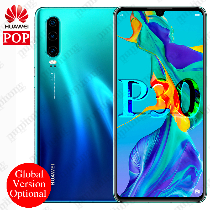 Global Version Optional Huawei P30 Mobile Phone 6 1 inch 8GB RAM 64GB ROM Support NM