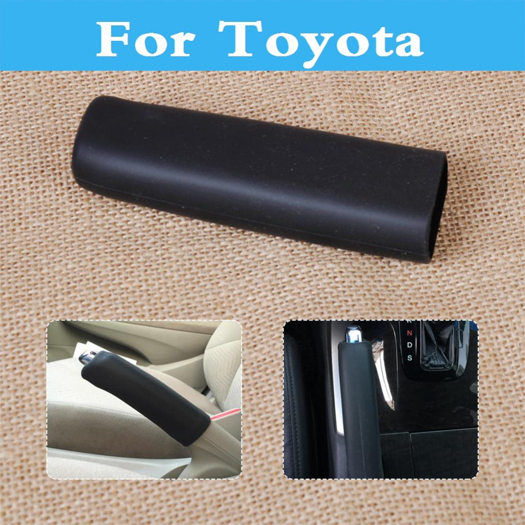 Car Handbrake Hand Brake Case Black Cover Sleeve Decorative Cover For Toyota Prius Prius C Probox Progres Pronard Rav 4 Rush Sai