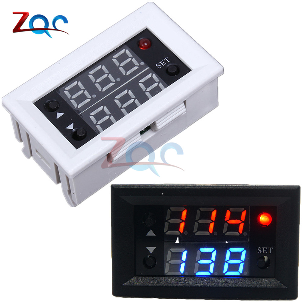 Dc 12v Dual Display Time Relay Module Time Delay Relay