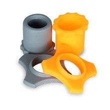 2 pçs/lote mic anti-rolamento de manga Capa Protetora de Silicone dedicado Para microphon wireless