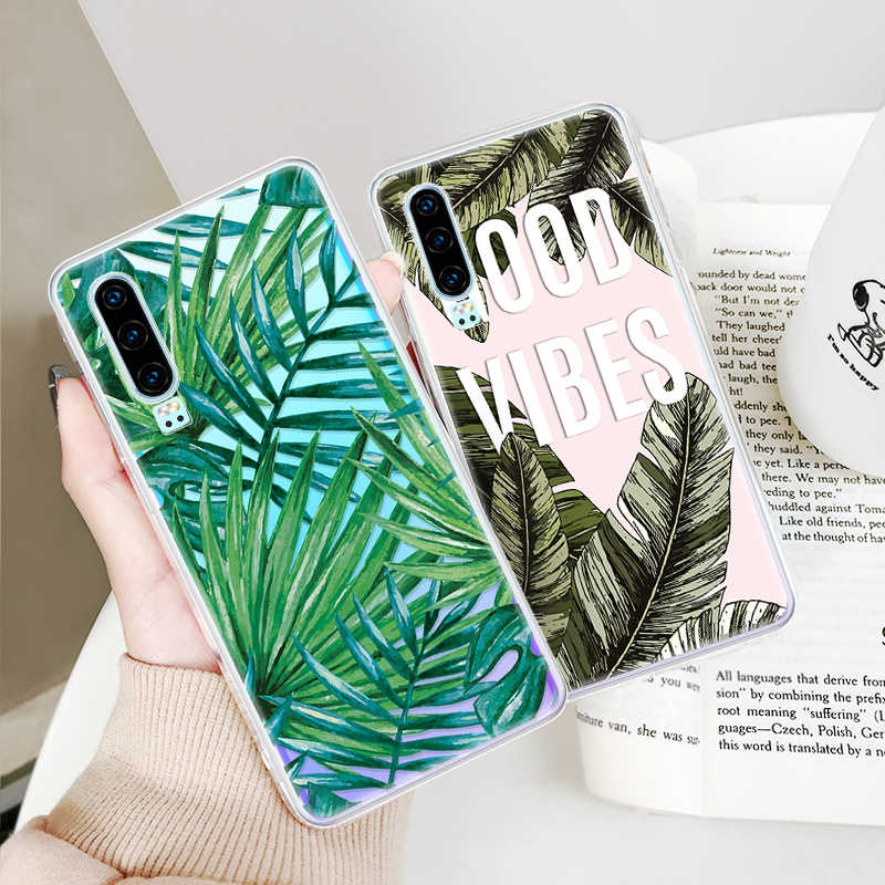 KK PINK Pattern Case For Huawei Y6 Y7 Y9 2019 Y6 Prime Y7 Pro Soft TPU Case  For Huawei P30 P20 Pro P30 P20 Lite Cover Capa Coque