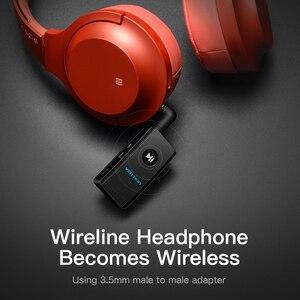 Image 5 - Vention kablosuz Bluetooth alıcısı 4.2 Aux 3.5mm Bluetooth ses alıcısı müzik adaptörü için araba Stereo kulaklık hoparlör MP3