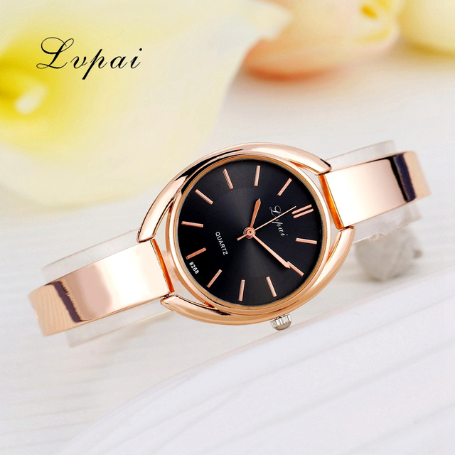 Lvpai Brand Luxury Women Bracelet Watches Fashion Women Dress Wristwatch Ladies Quartz Sport Rose Gold Watch Dropshiping LP025 1