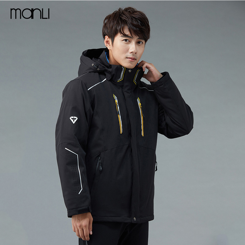 MANLI Ski Suit Men Winter Outdoor Waterproof Jackets Camping Hiking Jackets Hunting Climbing Wind Rain Fishing Sport Windbreaker 1 1 4 stainless steel electric solenoid valve normally closed 2s series stainless steel water solenoid valve page 6