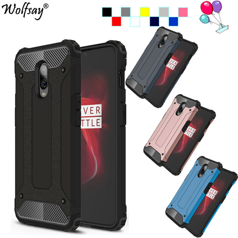 Fitted Case For <font><b>OnePlus</b></font> 6T Case Shockproof Coque For One Plus 6 Case TPU + PC Hybrid Armor Cover For <font><b>Oneplus</b></font> 6T Case <font><b>A6013</b></font> 6.4