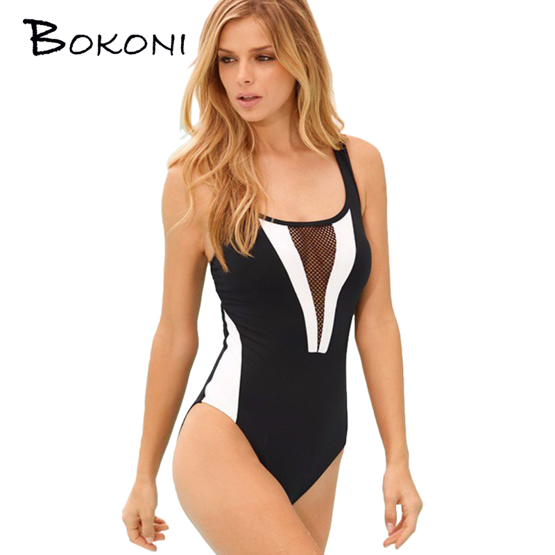 One Piece Sexy Lace Swimsuit Swimwear Women 2016 Summer Beach Wear Bathing Suit Bandage Backless Halter Top Monokini Swimsuit i glam 2017 sexy backless swimwear women one piece swimsuit monokini female bathing suit sport swimwear summer beach wear white