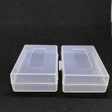2pcs Plastic Case Holder Storage Box for DSLR camera battery LP-E8 LP-E5 NB-10L NB-7L EN-EL9 EN-EL14 PSP CRV3 LP-E6 BP-511A