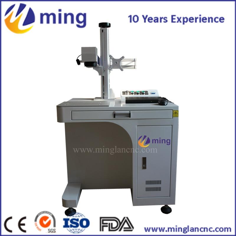Machine de gravure de laser d'anneau de 20 w Mini pour le prix de machines de marquage de fibre de laser en métal/métal
