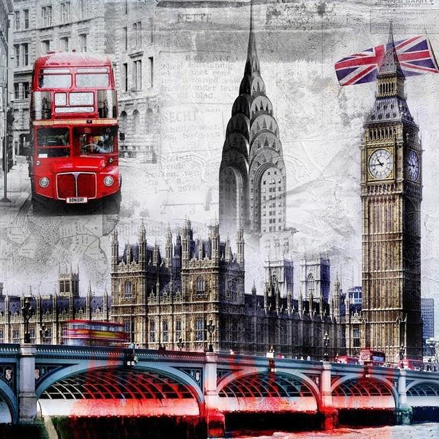Алмазная вышивка лондон купить