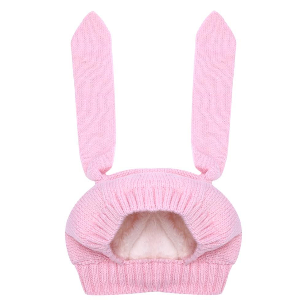 Winter Hat For Girls 2018 New N Baby Hat Children Knitted Velvet Rabbit Ears Beanie Hat For Kids