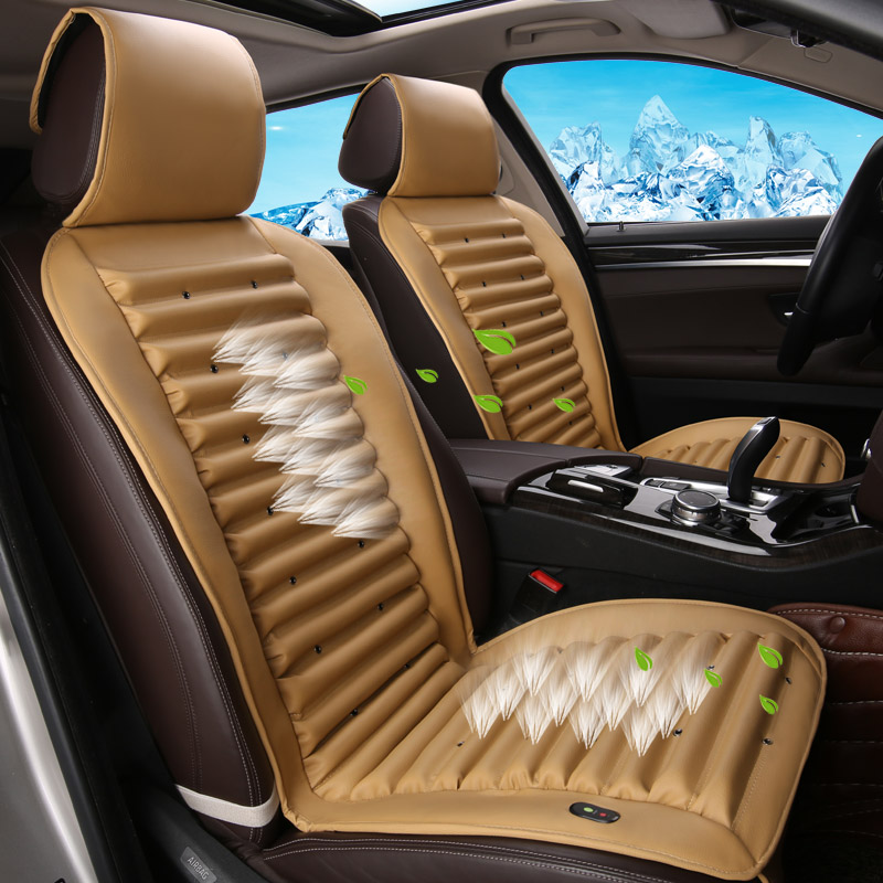 Built-In Fan Cushion Air Circulation Ventilation Car Seat Cover For Hyundai i30 ix35 ix25 Elantra Santa Fe SonataBuilt-In Fan Cushion Air Circulation Ventilation Car Seat Cover For Hyundai i30 ix35 ix25 Elantra Santa Fe Sonata