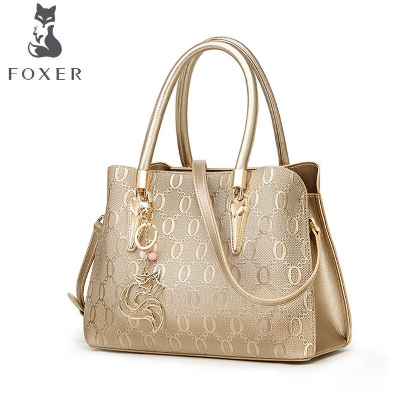 FOXER marque sac à main décontracté 2018 nouvelle mode femmes sac à bandoulière sac tempérament Messenger sac