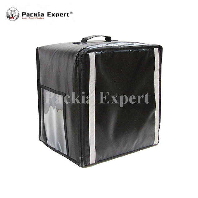 Whole Pizza Cake Delivery Box Bag Catering Carrier Backpack 2