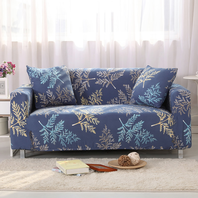 Universal sofa cover Print couch cover Polyester floral bench Covers Elastic stretchy Furniture Slipcovers home decoration 1119