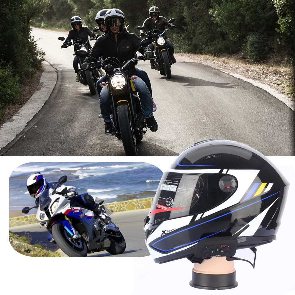 Bluetooth Riders Motorcycle V6 20