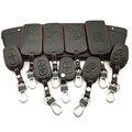 Кожаный чехол для автомобильного ключа 100%, чехол для ключа для Renault Clio Dacia Logan Sandero Megane Modus Espace Kangoo, чехол для ключей с дистанционным управление...
