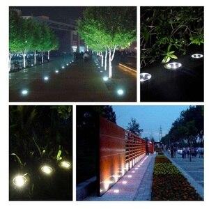 Image 5 - Đèn LED Năng Lượng Mặt Trời Bãi Cỏ Ánh Sáng Ấm/Trắng Mát Mặt Đất Đèn Chống Nước Chôn Cất/Vườn/Phong Cảnh Kênh Chiếu Sáng Ngoài Trời