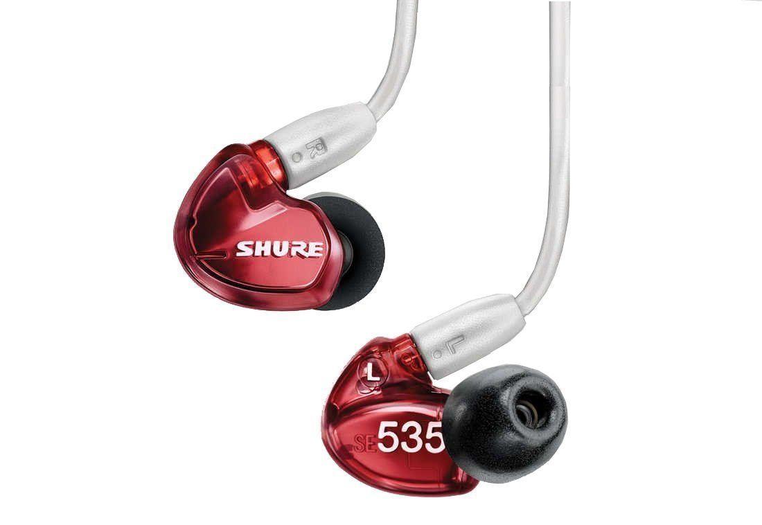 Fone de ouvido SE535 Isolador de Ruído Isolando Fones de Ouvido Especiais Edição Três Unidades de Armadura Balanceada Fone de Ouvido Habitação Cabo Ee