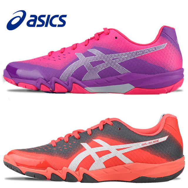 2018 Original ASICS Badminton Shoes Women Zapatillas Deportivas  Anti-Slippery Breathable For Lover R753N 181436e34152e