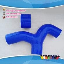 Para subaru impreza wrx gc8 ej20 ej22 turbo y pipe 96-00 manguera de silicona intercooler
