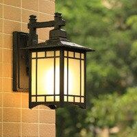 наружный настенный фонарь Настенные светильники для балкона свет безопасности Наружное освещение современный экстерьер бра Водонепрониц