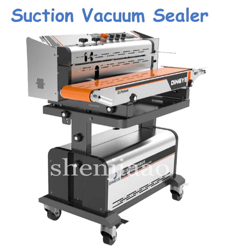 цены Continuous Suction Vacuum Sealing Machine Continuous Suction Vacuum Vacuum Sealer Seal Food Machine LF1080A