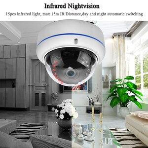 Image 3 - ONVIF IP Camera Outdoor Vandal proof Camera 1080P 20fps 960P/720P 25fps Nightvision Surveillance IP Camera POE Module Optional