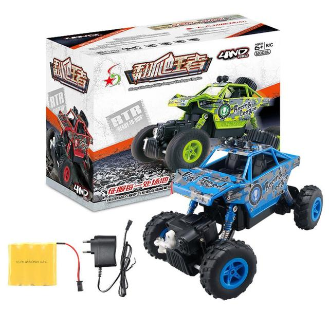 1/20 2.4GHZ 4WD Radio Remote Control Off Road RC Car ATV Buggy Monster Truck Dirt Bike RC toys for children