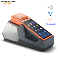 Android 6 Mini POS Thermal Printer Barcode Scanner Handheld POS Terminal wireless Bluetooth Wifi Android PDA 3G Distribution V1s