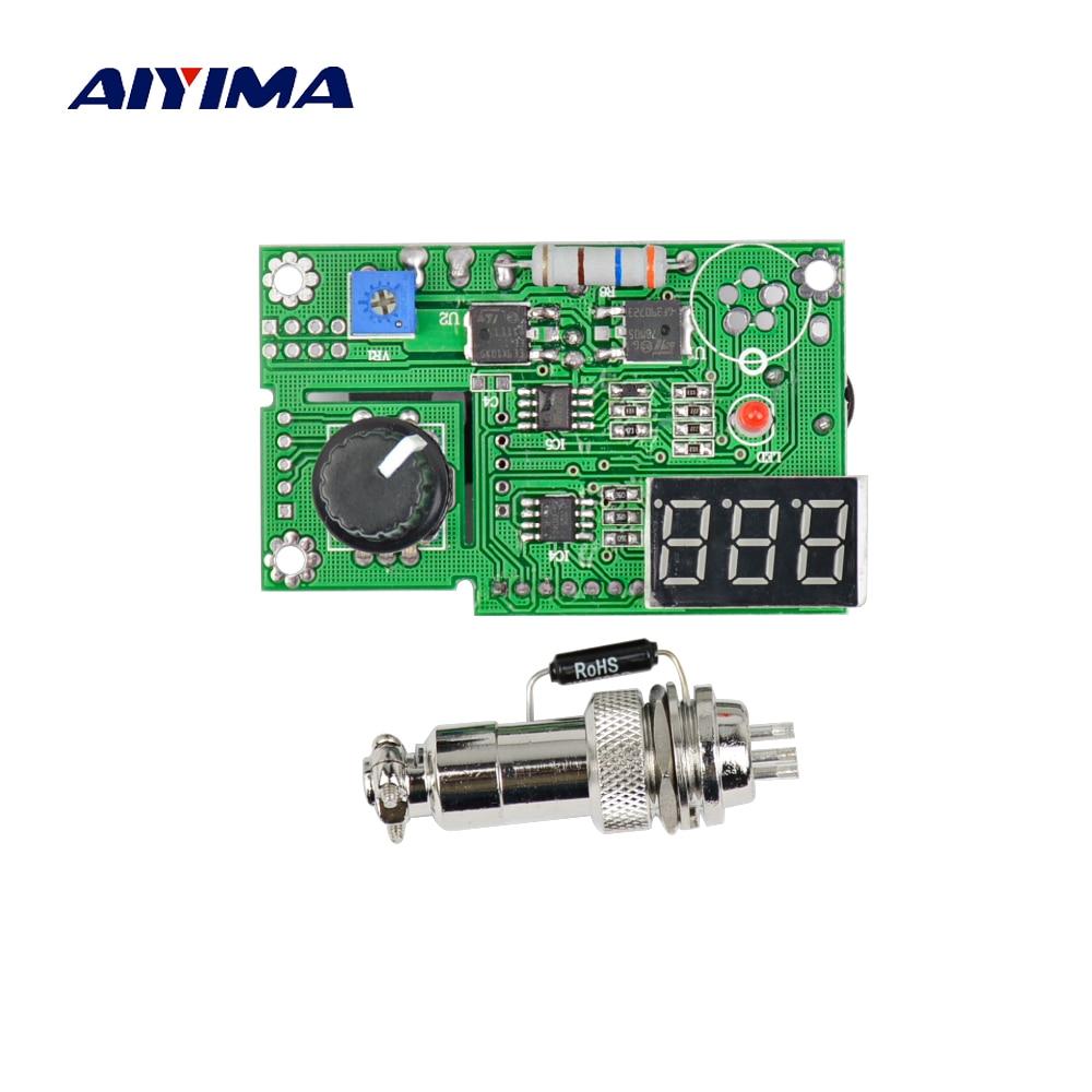 AIYIMA Tous Les Nouveaux T12 Affichage Numérique À Souder Station Contrôleur Circuit Conseil pour 936 Transformateur