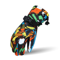 2017 New Winter Open Ski Gloves Snowboard Snow Rider Motorcycle Riding Mountain Windproof Waterproof Male Female