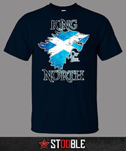 King of the North Scotland T-Shirt - Direct from Stockist New T Shirts Funny Tops Tee Unisex Tshirt Homme