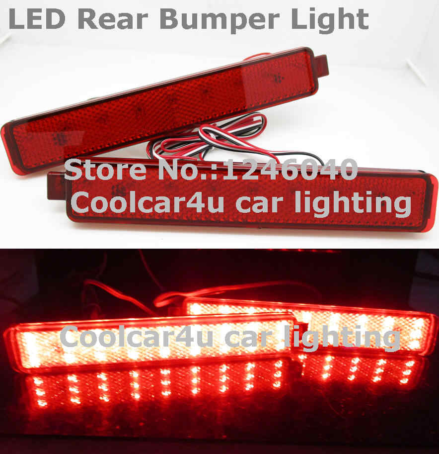 Detail Feedback Questions about LED Rear Bumper light Lamp