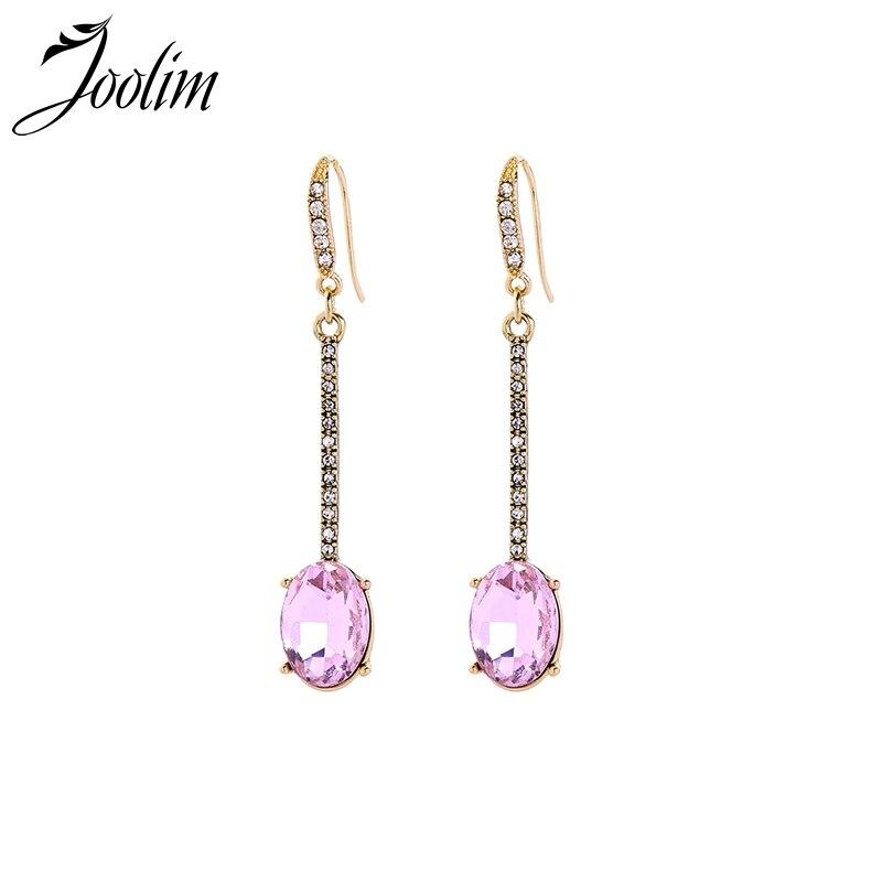 Joolim High Quality Colorful Fabric Tassel Earring Ethnic Drop Earring For Women Drop Earrings Earrings