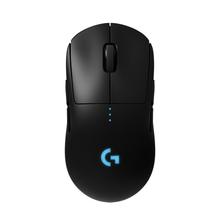 Logitech G PRO bezprzewodowa mysz do gier podwójny tryb RGB z czujnikiem HERO 16K DPI LIGHTSPEED laserowa mysz dla graczy POWERPLAY kompatybilna cheap Akumulator 2 4 ghz wireless Opto-elektroniczny 12000 PRO WIRELESS Lewy 100-16000 DPI 5 profiles 40G3Tested on Logitech G240 Gaming Mouse